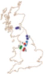 Joseph Parr - Group Locations