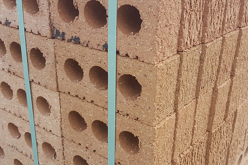 Bothwell Castle Red Rustic Facing Brick, 452 per Pallet.