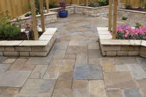 Natural Slate Paving Project Pack