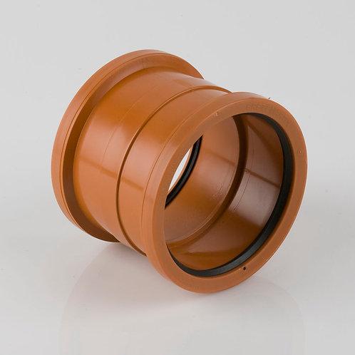 Double Socket Coupling. Polypropylene