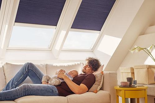 White Painted Velux C/P Roof Window GGL MK04 2070 78 x 98cm