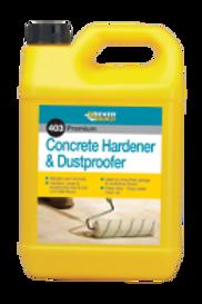 Concrete Hardener & Dustproof