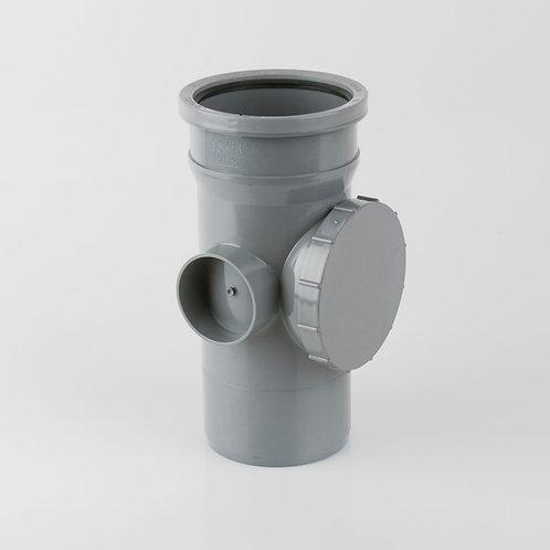 Soil Single Socket Access Pipe