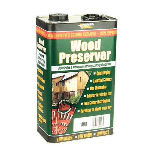 Sika Wood Preserver Dark Oak