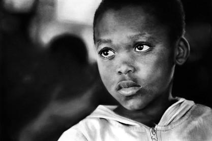 Sad African Child