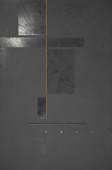 Bruce Mortimer Gallery Abstract Painting Urban Redistribution Gray