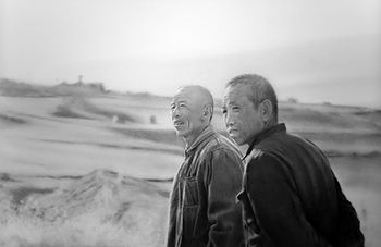 Bruce Mortimer Gallery Pencil Charcoal Graphite Paper Drawing Realistic Supervision Chinese Farmlands Portfolio