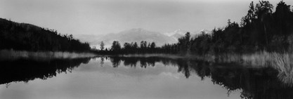 Trees surround Lake