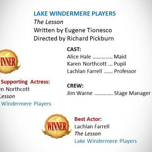 Lake Windermere Players entry
