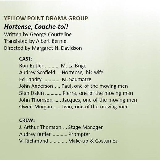 Yellow Point Drama Group