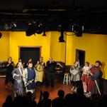 L-R from centre)Jarrod, David, Randy, Yme, Georgia, Alysha, Saturna & Angus