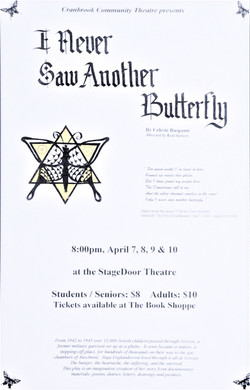 I Never Saw Another Butterfly 1999