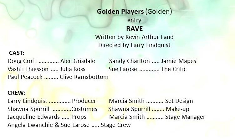 Golden Players entry