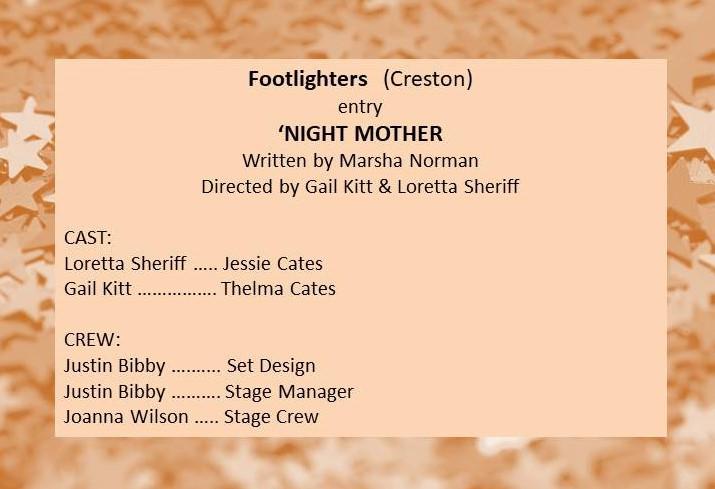 Footlighters entry