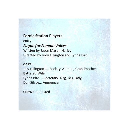 Fugue for Female Voices