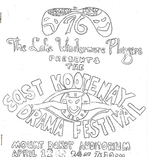EK Fest 1970 program cover