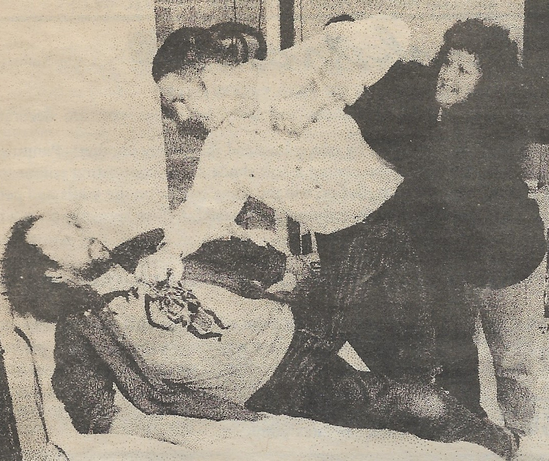 Jim, Pat and Debbie