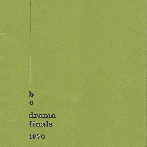 Prov Fest program cover 1970