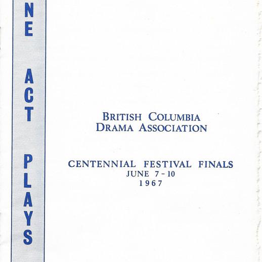 67 BCDA Centenn program cover