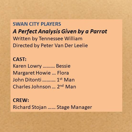 Swan City Players entry