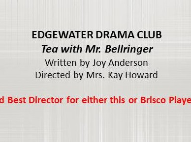 Edgewater Drama Club