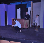 Brenda demonstrates for actors
