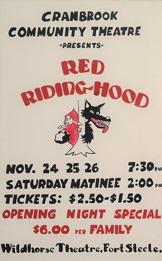 1977 Red Riding Hood Panto poster.JPG