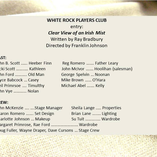 White Rock Players Club