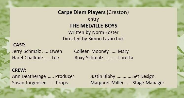 Carpe Diem Players entry