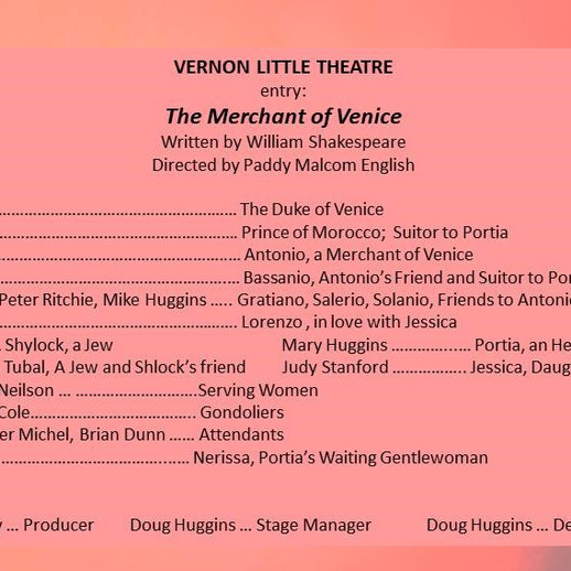 Vernon Little Theatre