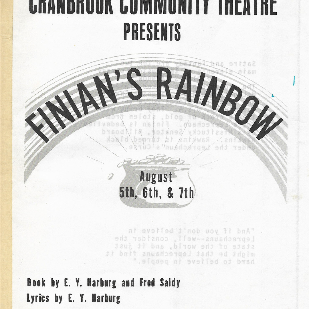 Finian's Rainbow program