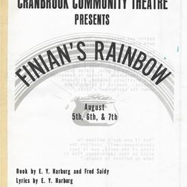 Finian's Rainbow program