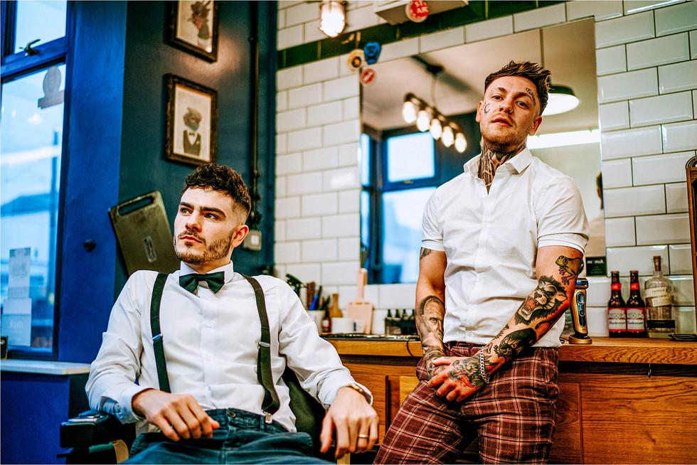 Vagabonds barber shop baddlery green