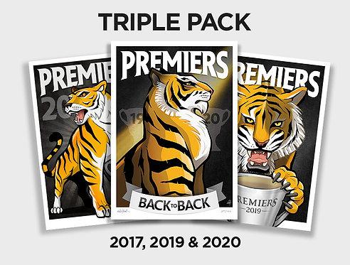 Tigers 17,19 & 20 Triple Pack