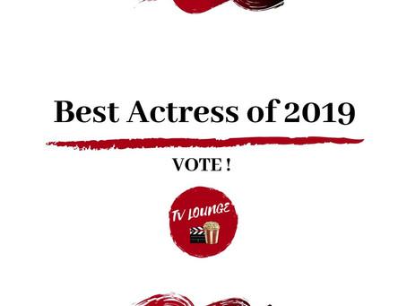 Best Actress of 2019
