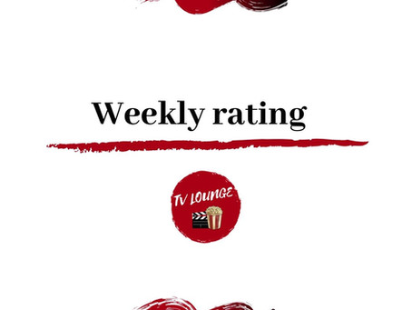 Tv lounge weekly rating