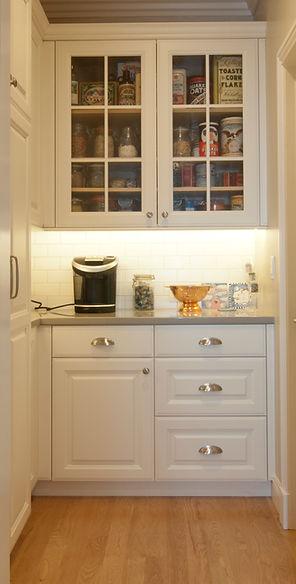 butler's pantry glass doors