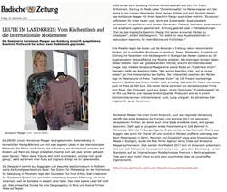 Badische Zeitung 30.09.2016