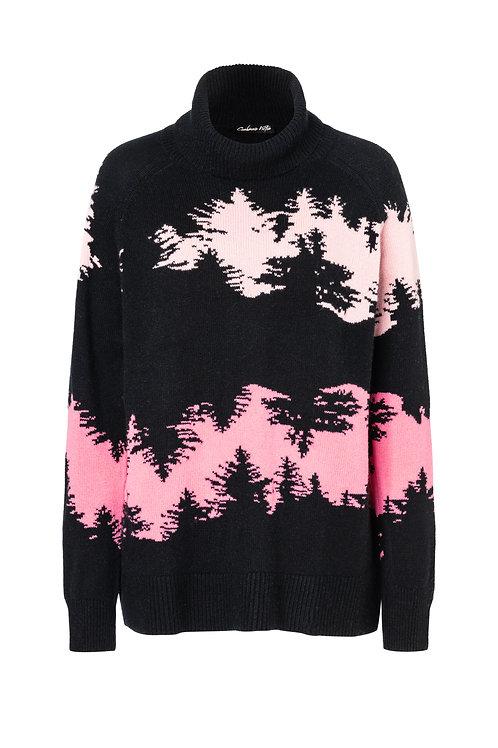 Charlie tree stripes black