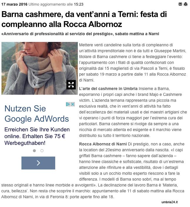 umbria 24 - 17.03.2016