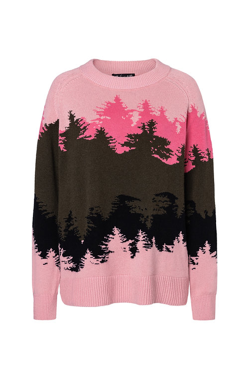 Cornelia tree stripes pink