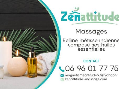 ZENATTITUDE, Votre Massage en Martinique