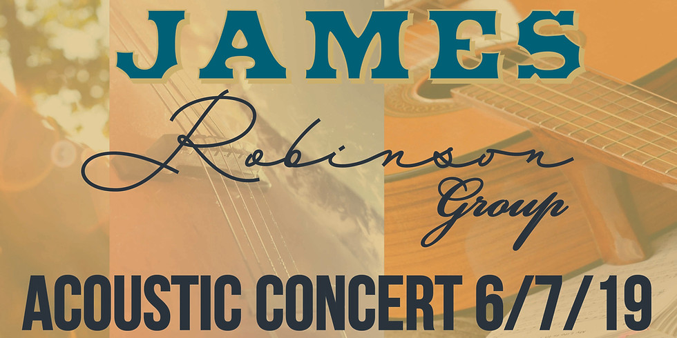 James Robinson New Beginnings Acoustic Concert