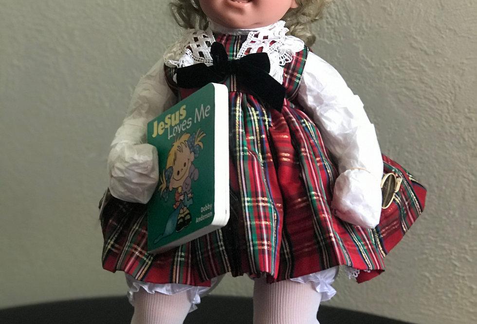 Jesus loves me, Lee Middleton Originals doll