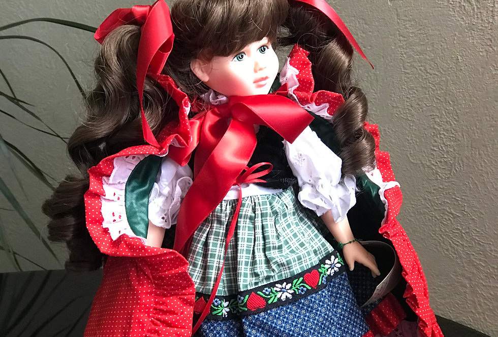 Pittsburgh Originals Limited Edition Little Red Riding Hood Doll