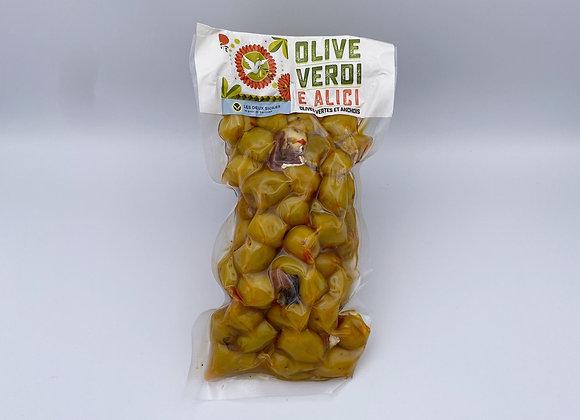 Olive Verdi E Alici (olives vertes et anchois)