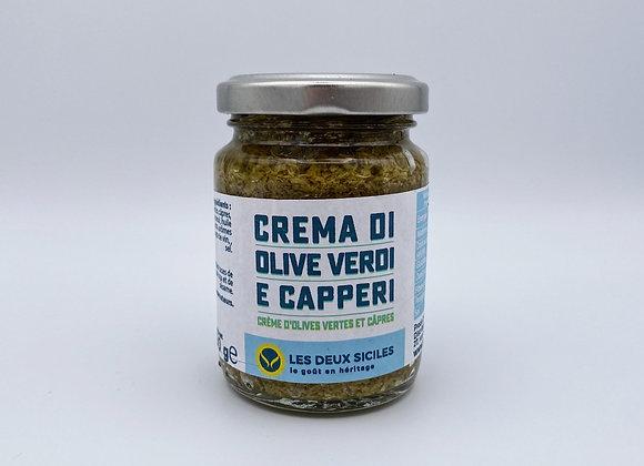 Crème d'Olive Verte et Câpres