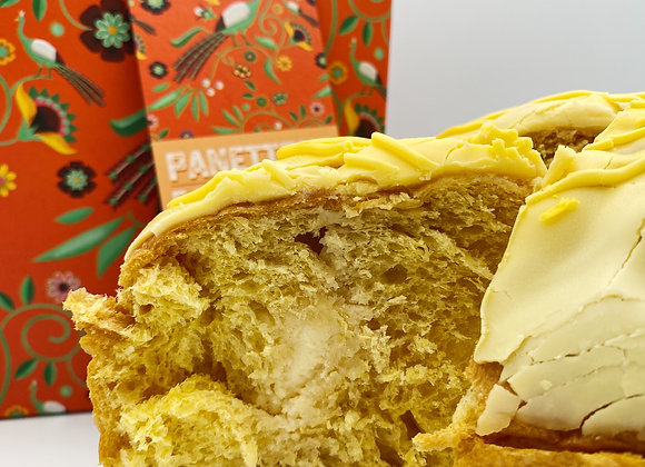 Panettone Farci à la crème de mandarine