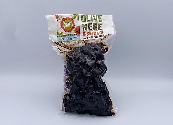 Olive Nere Infornate (olives noires au four)