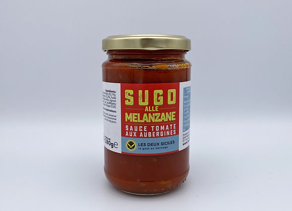 Sauce Tomate aux Aubergines. Norma